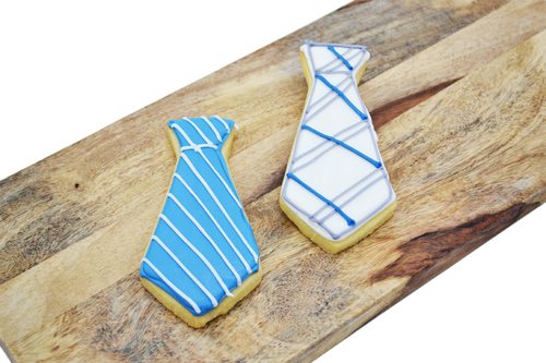 Father's Day Tie Shortbread Cookie